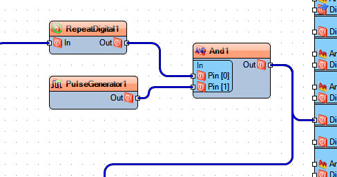 Picture of In Visuino: Connecting Components