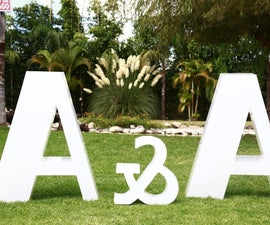 Large Acrylic Letters
