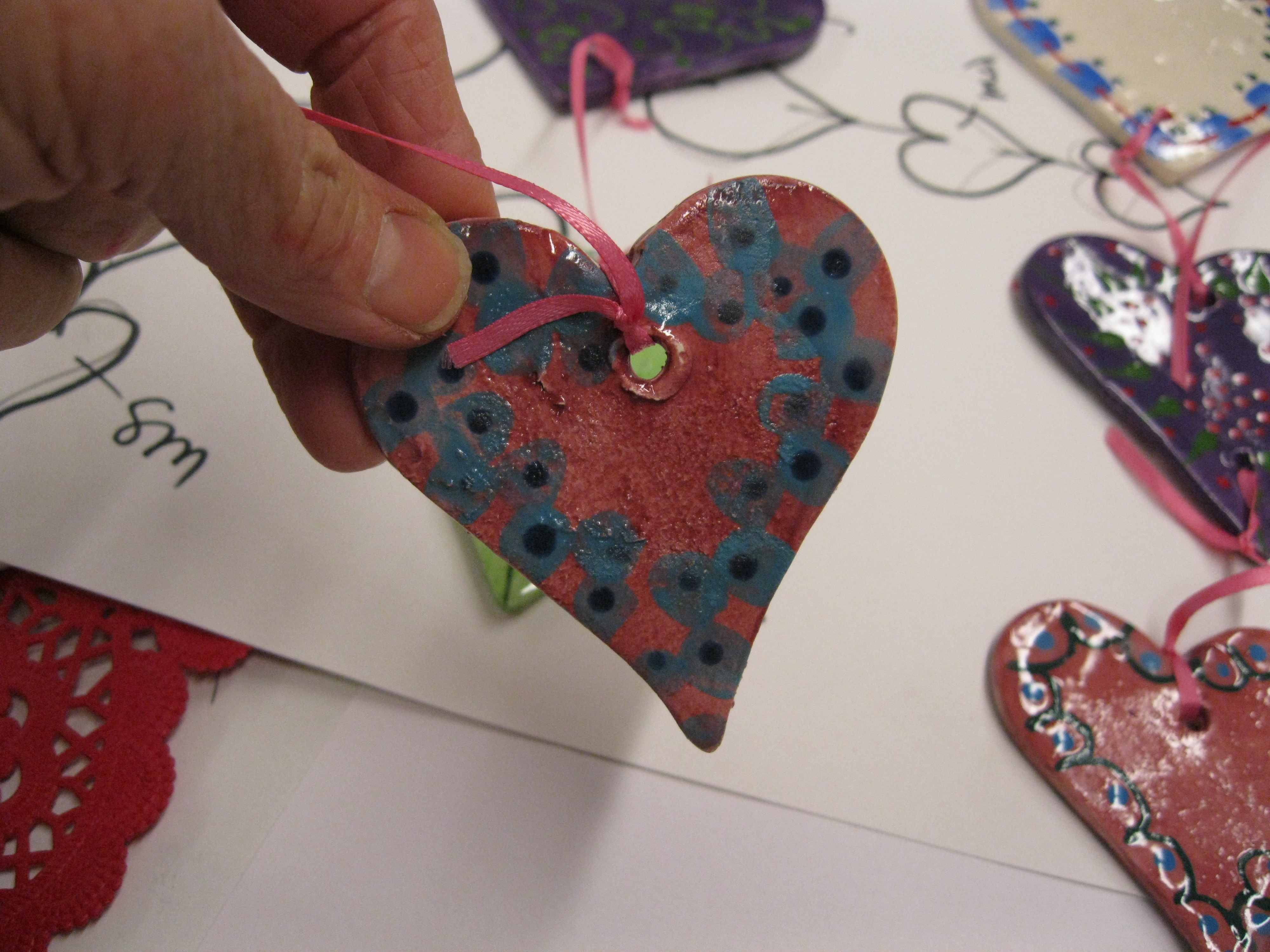 Picture of Tie Hearts