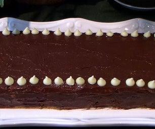 Mocha Biscuits Cake