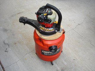 A Gas Powered Vacuum Cleaner For Use In Gold Prospecting 5 Steps With Pictures Instructables