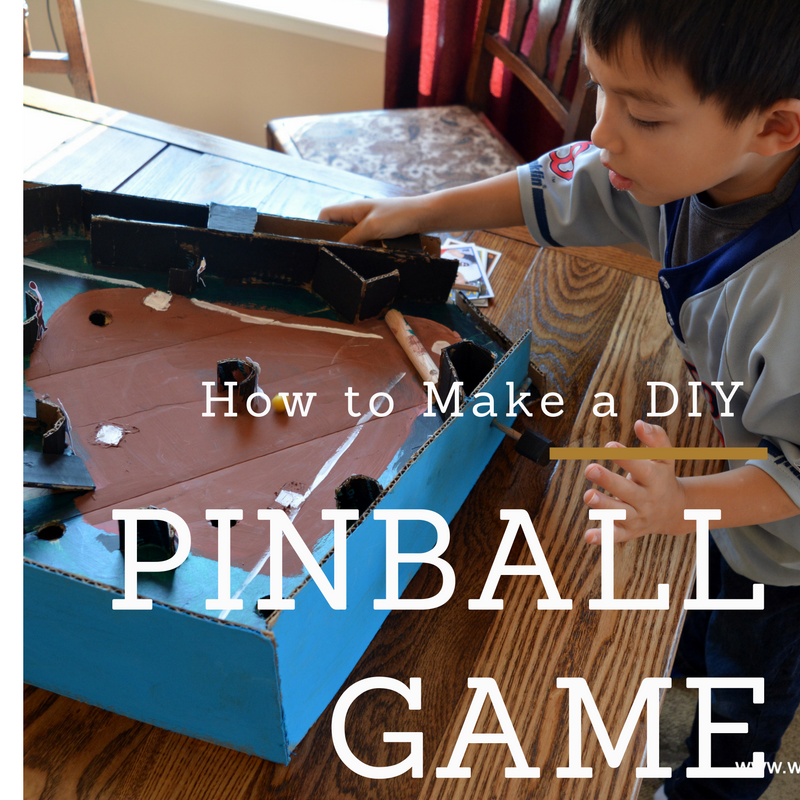 Picture of DIY Cardboard Pinball W/ Flipper & Launcher