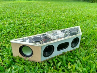 Hand Built Full Range Portable Bluetooth Speaker 20 Steps With Pictures Instructables