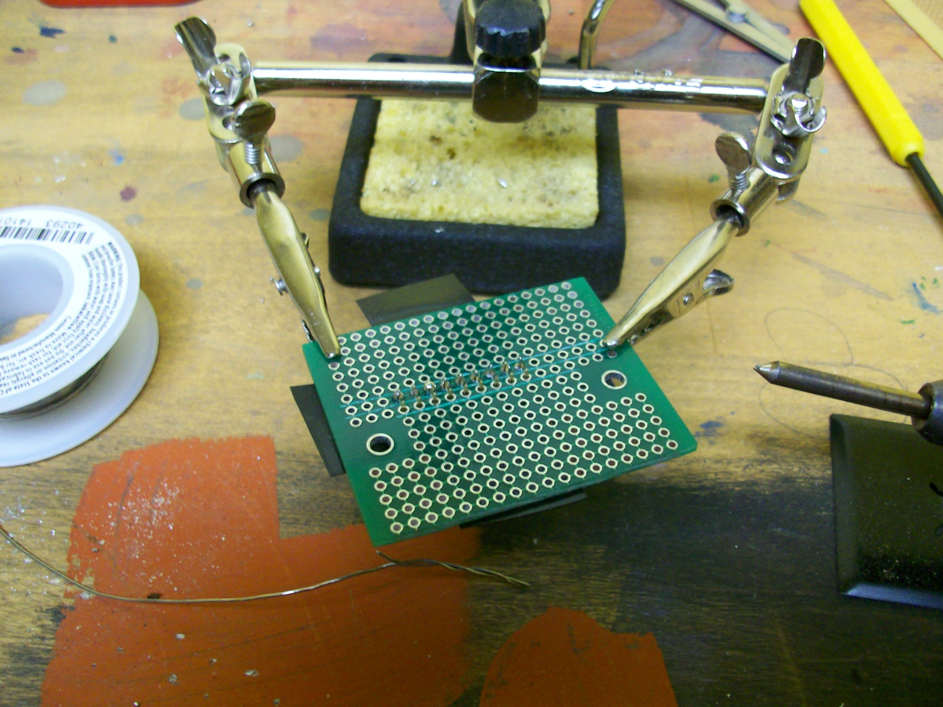Picture of Solder Components