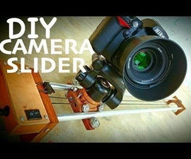 DIY Portable Camera Slider