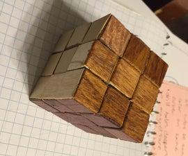 Wooden Rubik's Cube