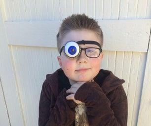 Alastor Mad Eye Moody Costume With Anamatronic Eye