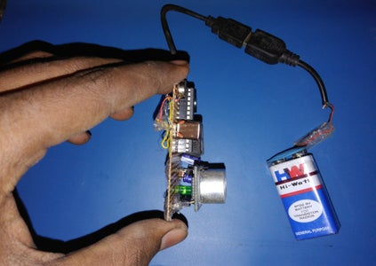 Final Result :- Haptic Proximity Module-The HPM