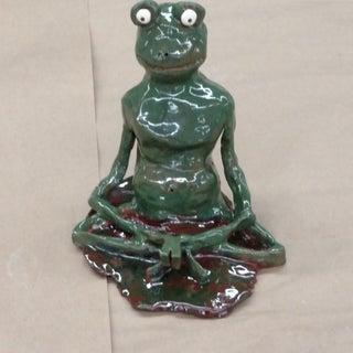 Ceramic Sculpture, Beginner: Meditating Frog