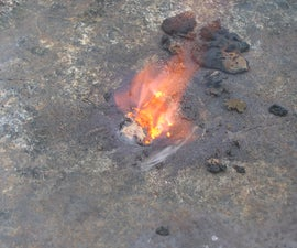 Self-Igniting High Temperature Reaction