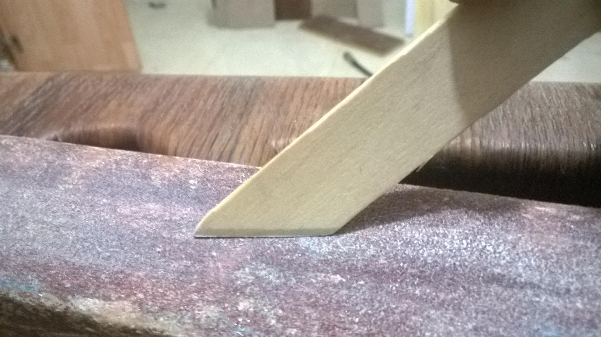 Picture of Preparing the Sticks