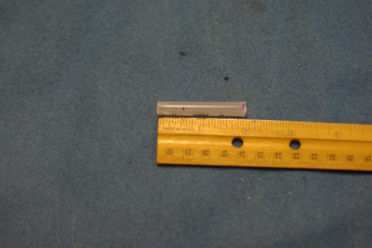 Picture of Cut a Mouthpiece Section Off the Original Middle Section