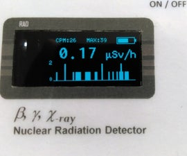 W-GM Count - IoT (Wifi) for Radioactivity Monitoring