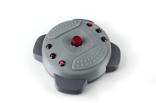 3D Printed Goldeneye 007 Remote Mine (With Beeper + Blinking LEDs)