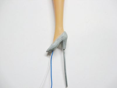 Create High-heeled Shoe
