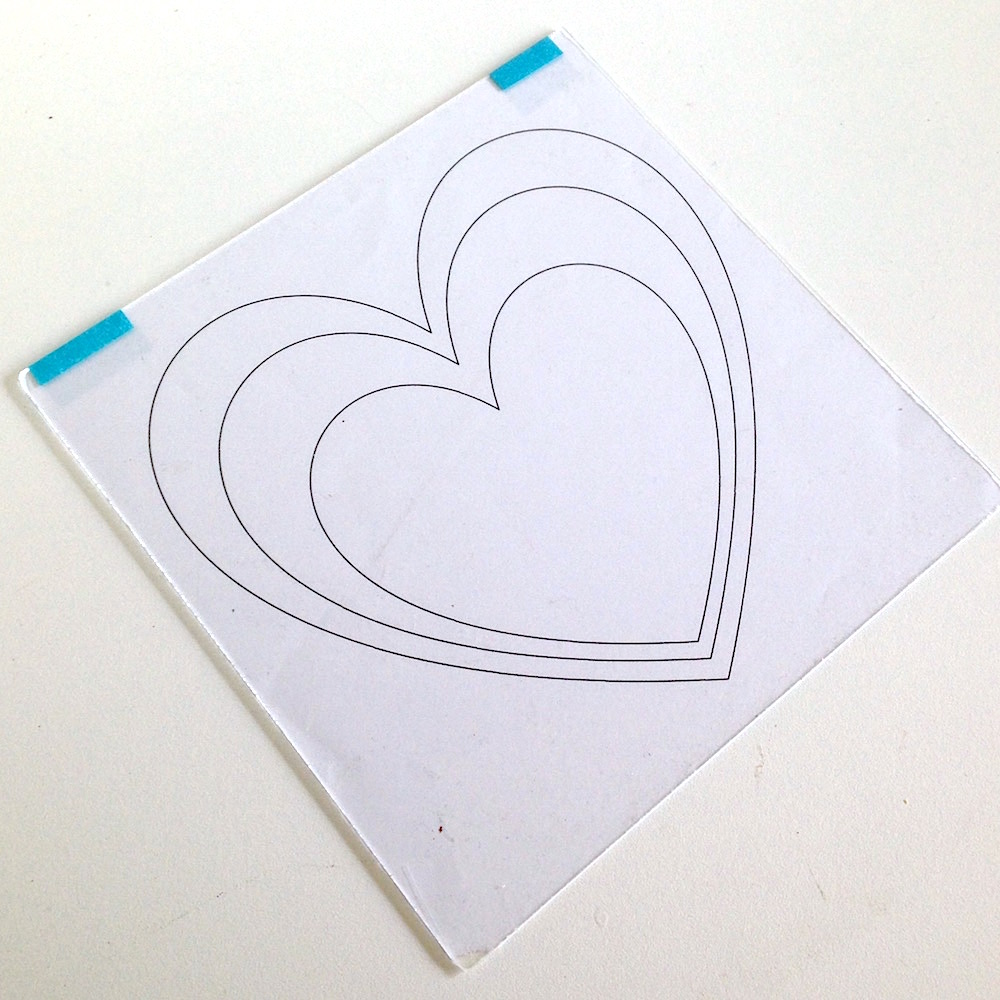 Picture of Use the Heart Template to Start