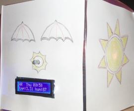 DIY world clock and weather bot (Arduino + ESP8266)