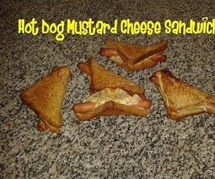 Hot Dog Mustard Cheese Sandwich Recipe