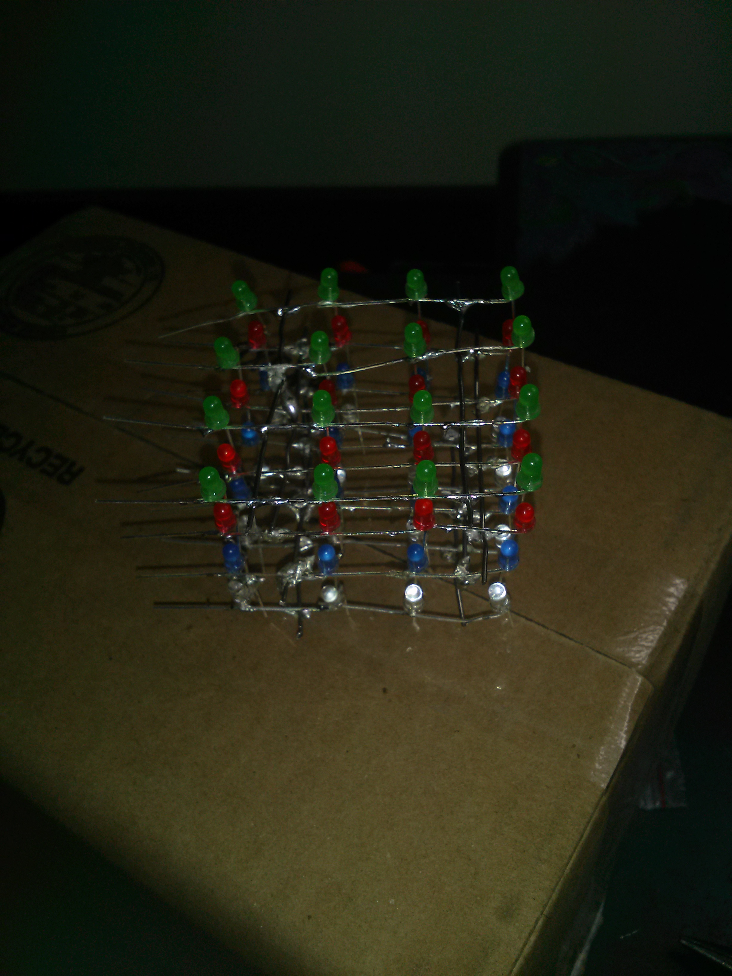 Picture of 4x4x4 Multi Led Cube