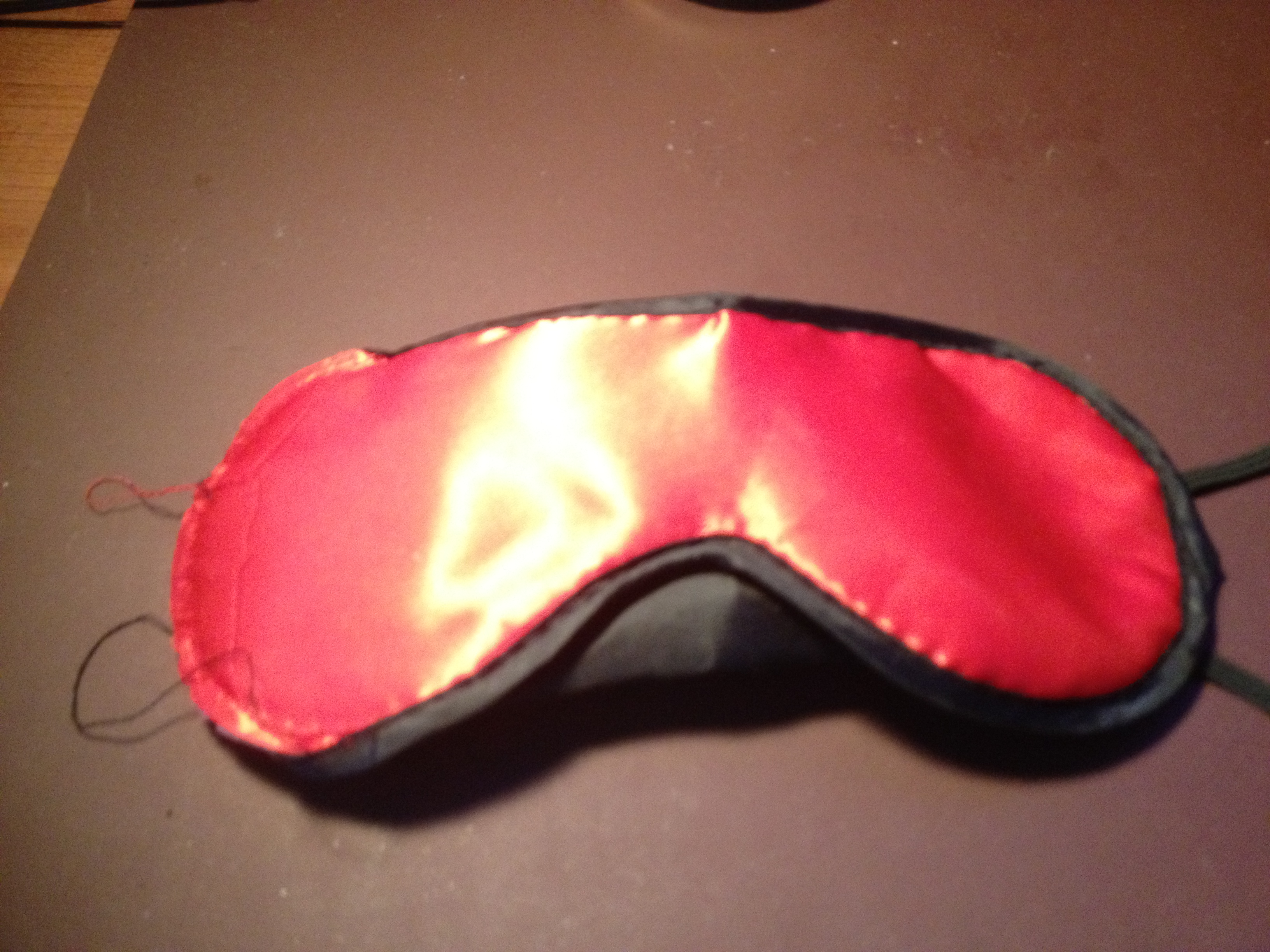 Picture of Getting the Sleep Mask Ready