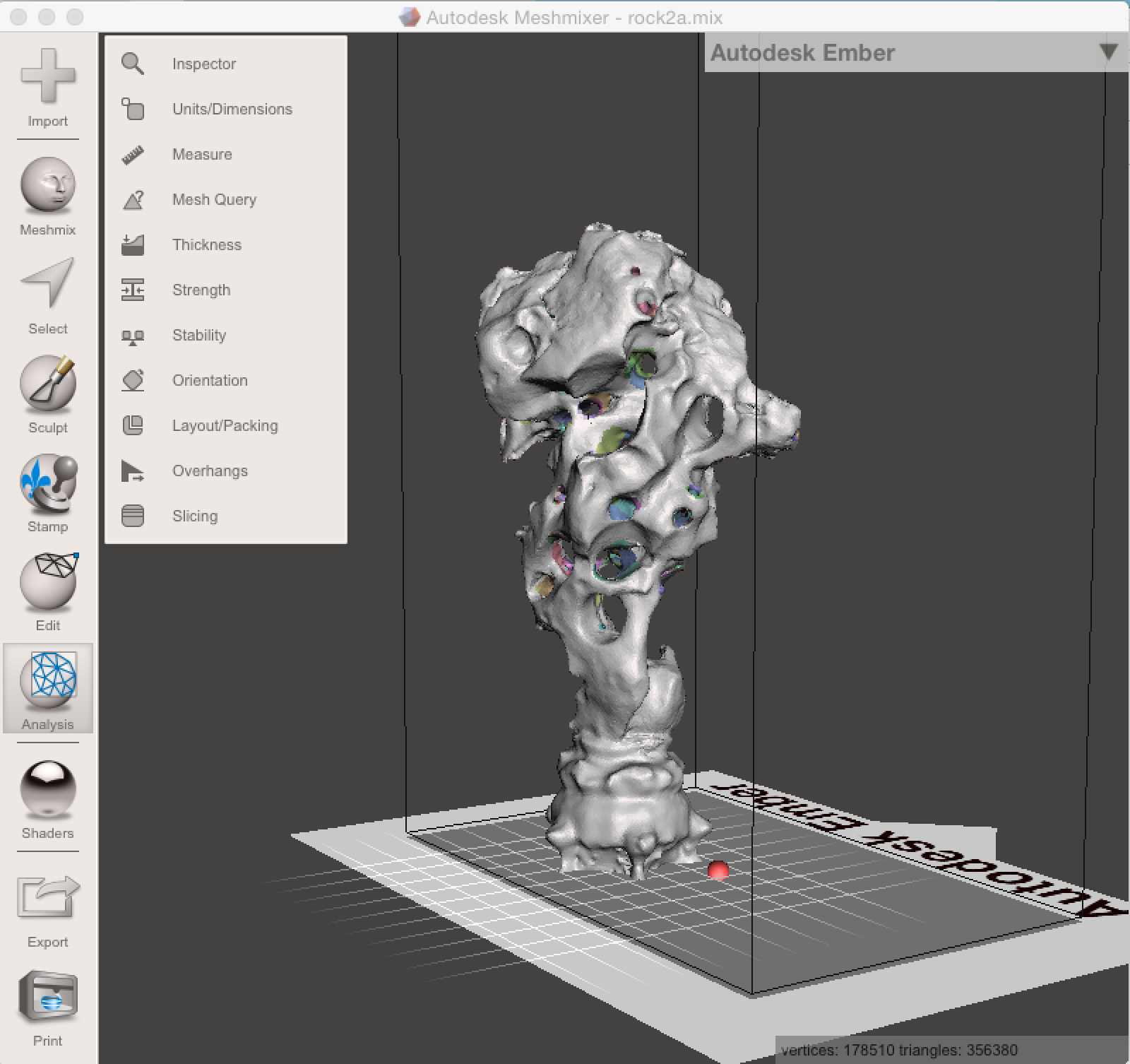 Picture of Import .obj Model Into Meshmixer