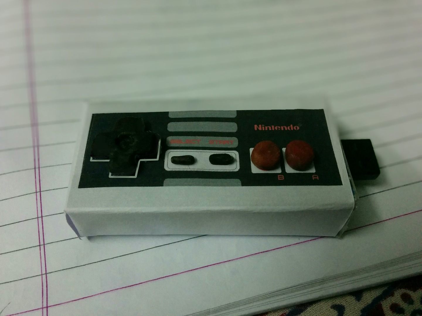 Picture of The NES Flash Drive