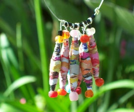 Wavy Cut Paper Bead How-To