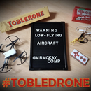 Tobledrone - Edible Chocolate Drone Controller with Makey Makey