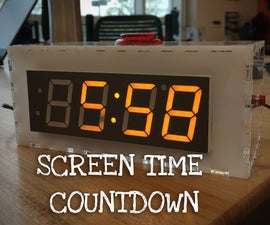 Screen Time Countdown Timer