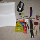 Outdoors small tools for making other tools kit