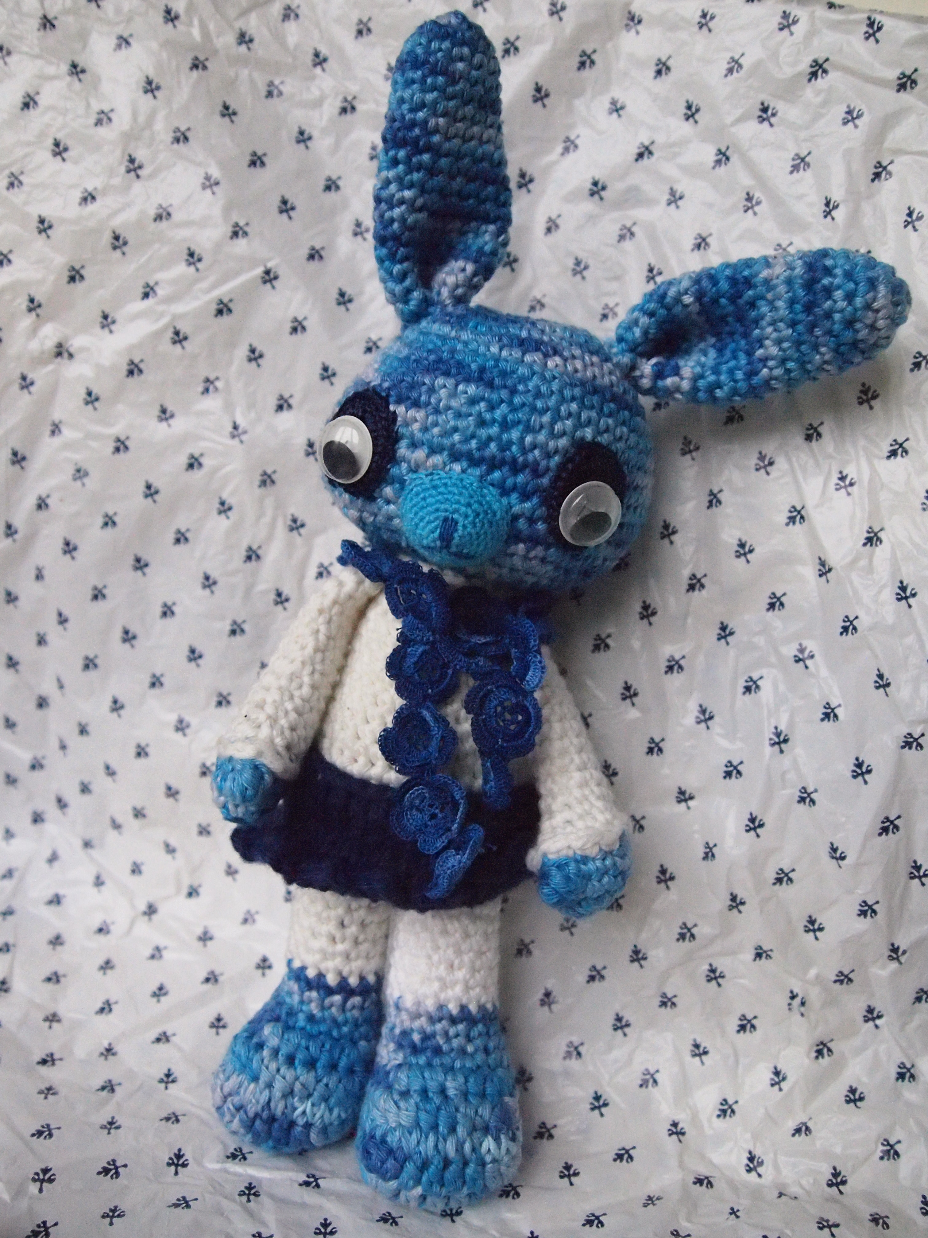 Picture of Finished Amigurumi Rabbits