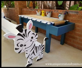 How to Make a Toddler Craft Table