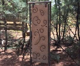 Casted Hypertufa Garden Art