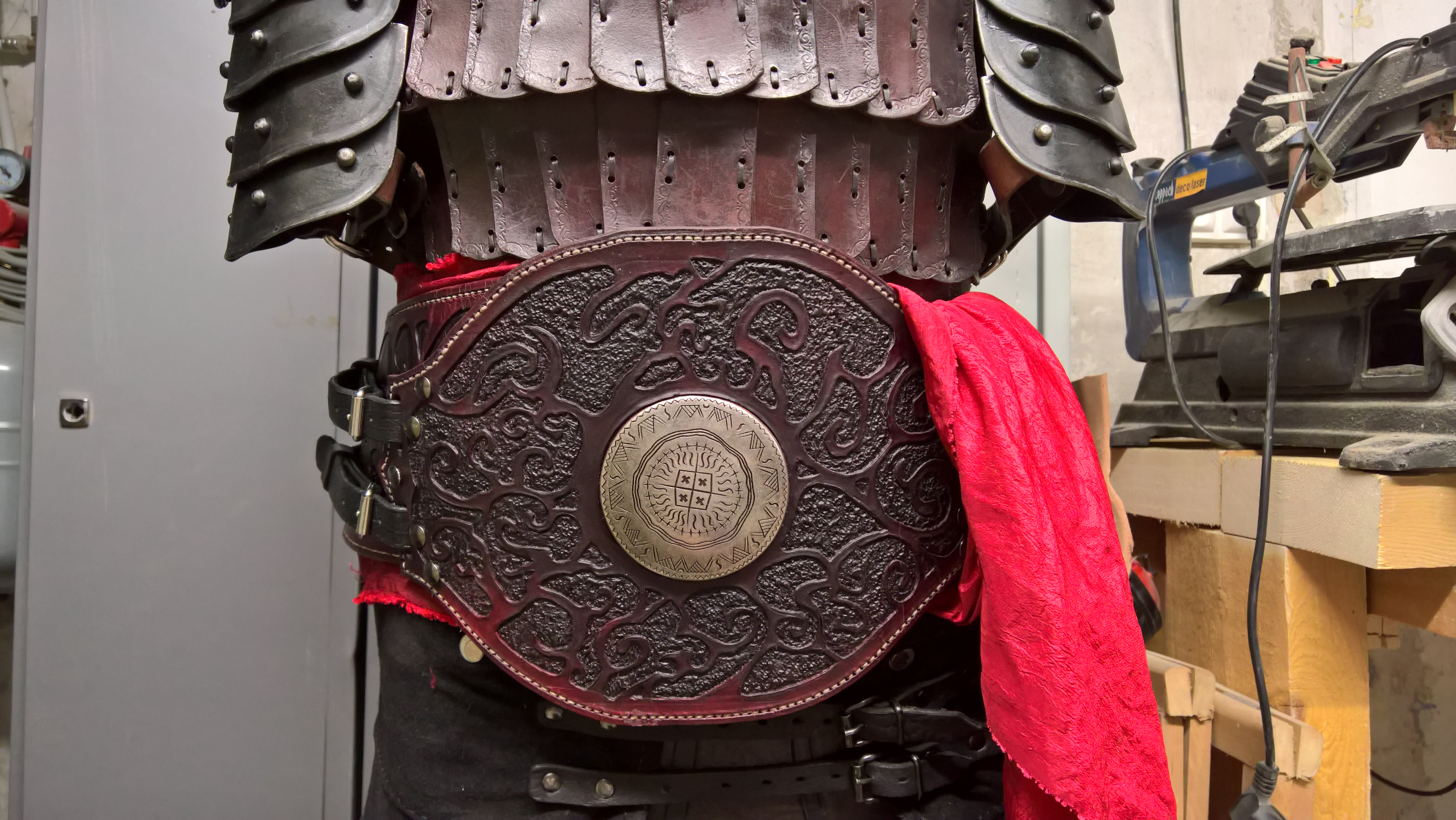 Picture of Leather Larp Belt
