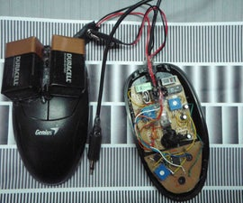 Bend/hack an Optical Mouse to hear surface textures.