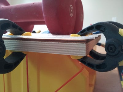 Glue the Top and Bottom Boards Together