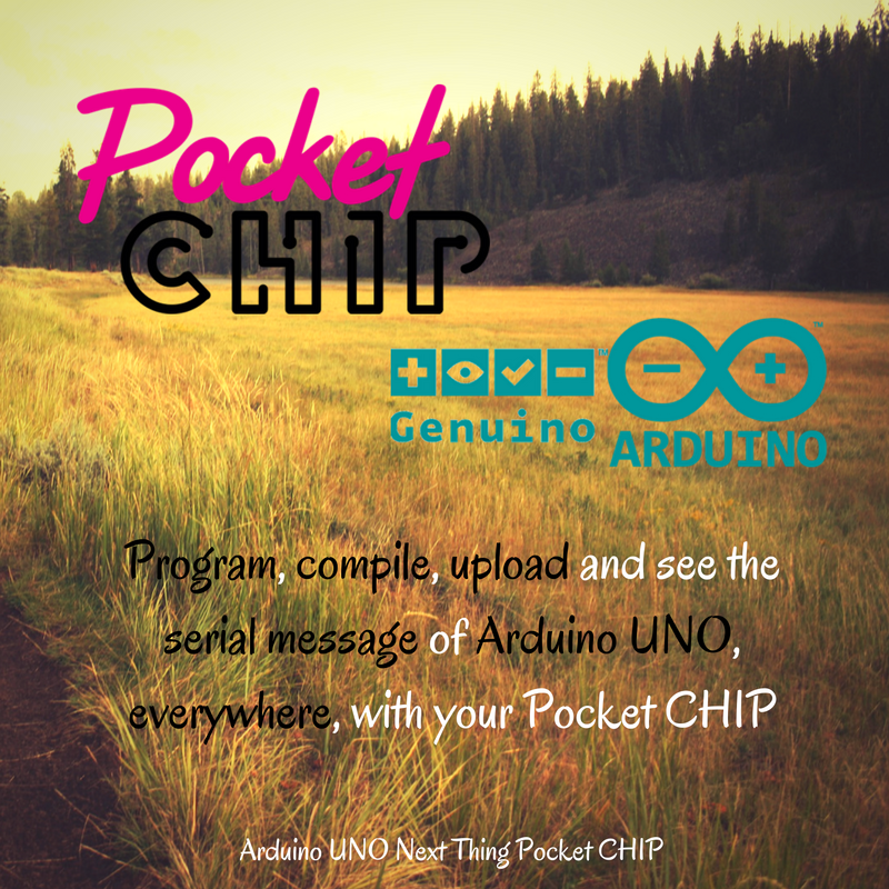 Picture of Arduino Edit, Compile, Upload, Read Serial by LInux Pocket Chip