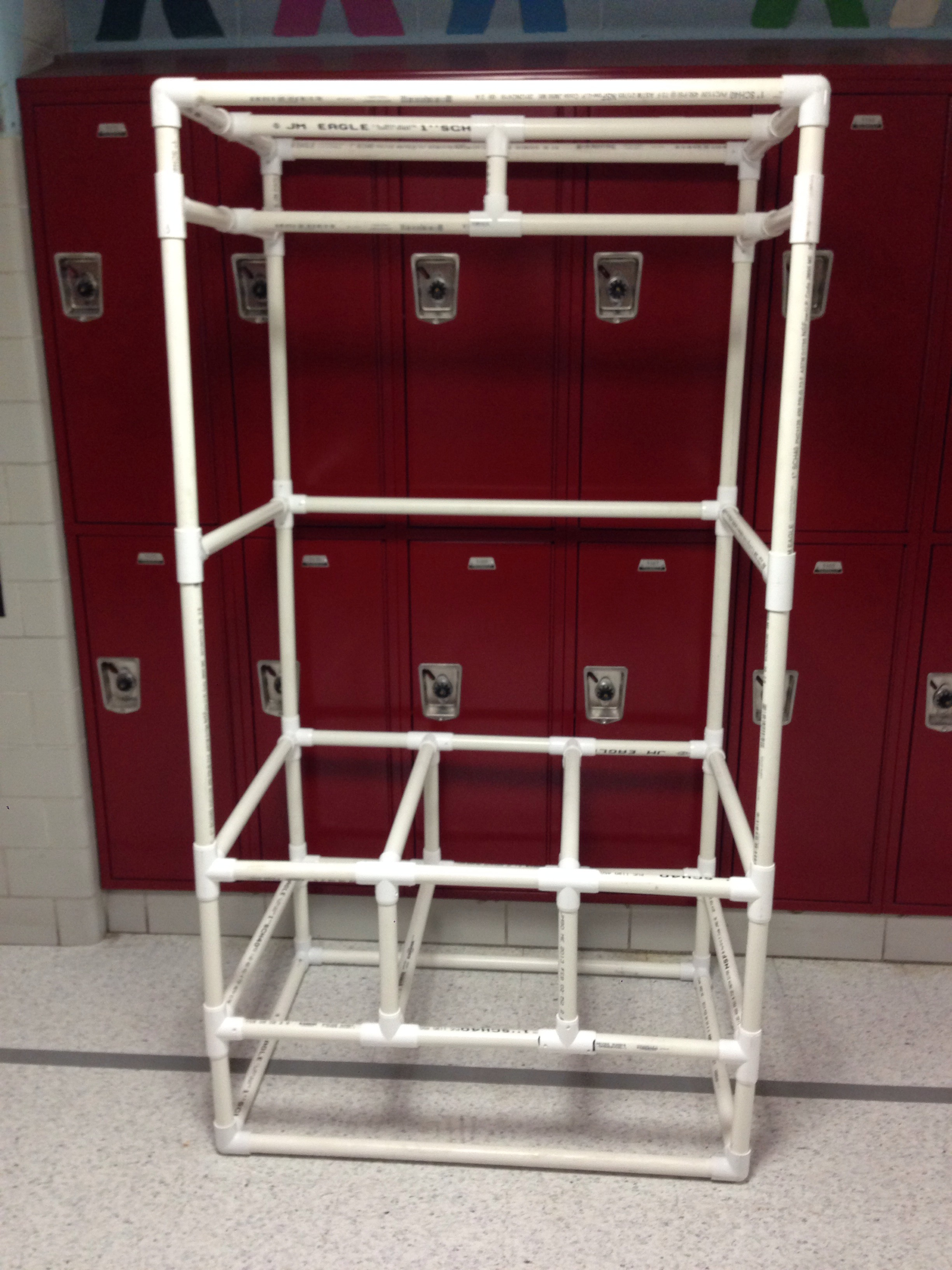 How To Make A Closet Organizer Out Of Pvc 8 Steps With