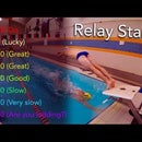 Relay Starts! for Competitive Swimming