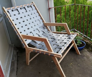 Duct Tape Lounge Chair