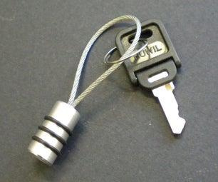 Aluminium Keyring