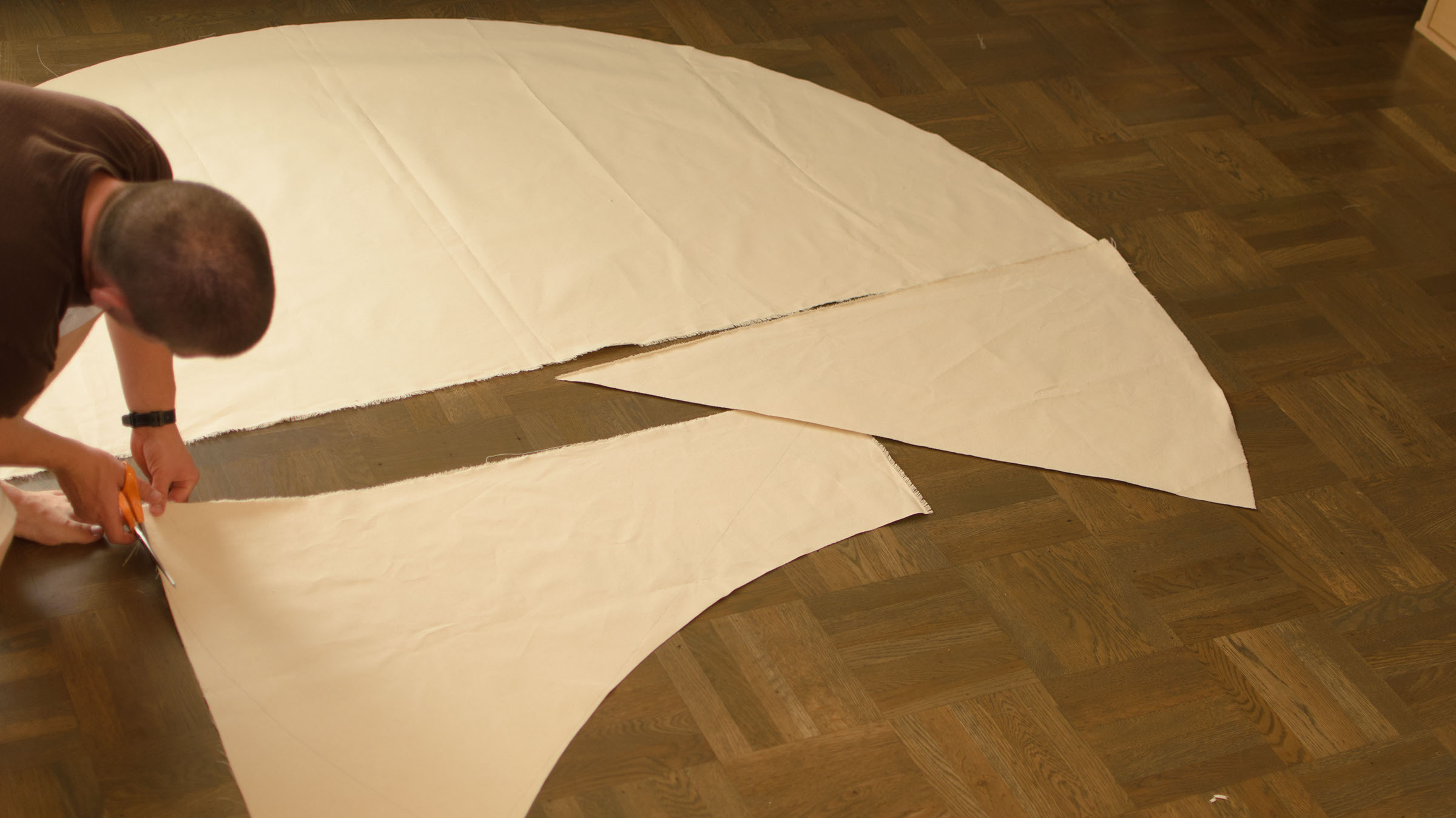 Picture of Cut Two Flaps From the Scrap