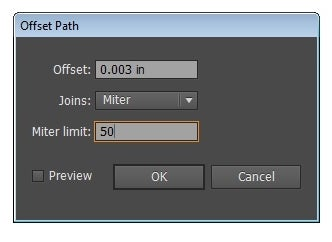 Compensate for the Laser Kerf Using Offset Path