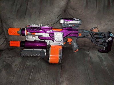Ultimate Nerf Demolisher With Integrated Shotgun, Upgraded Motors and More!