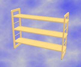 Knock Down Shelf Unit