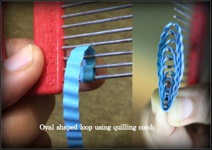 Oval Shaped Looping Technique