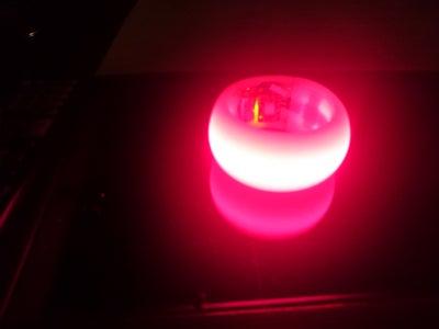 3D Printed LED Bracelet With Motion Sensor