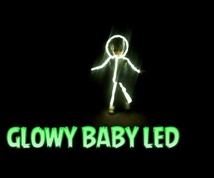 How to Make Baby LED Suit Halloween Costume