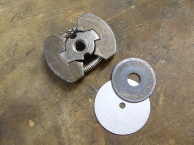 Make the Clutch Shaft - Version Two - Soldering the Upper Clutch Nut