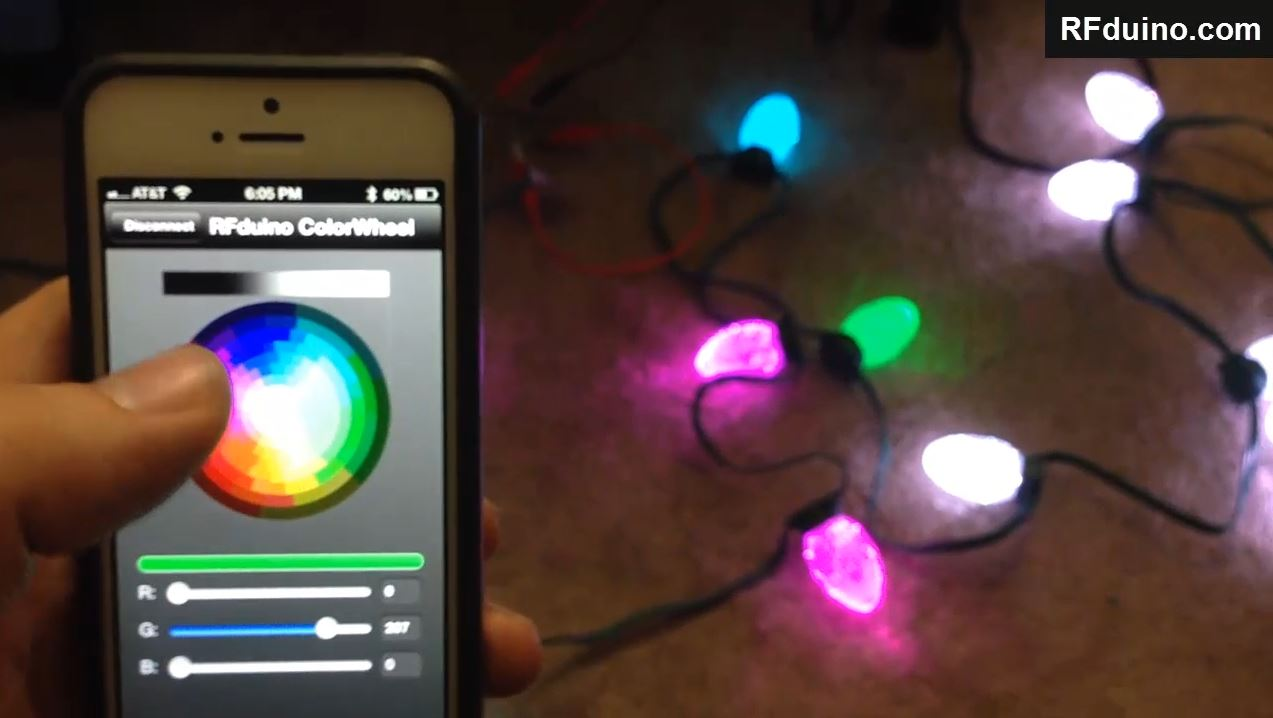 Ge Led Christmas Lights.Rfduino Ge G35 Christmas Lights